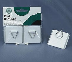 Adhesive Plate Hangers