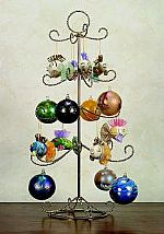22. Four Tier Ornament Display Tree
