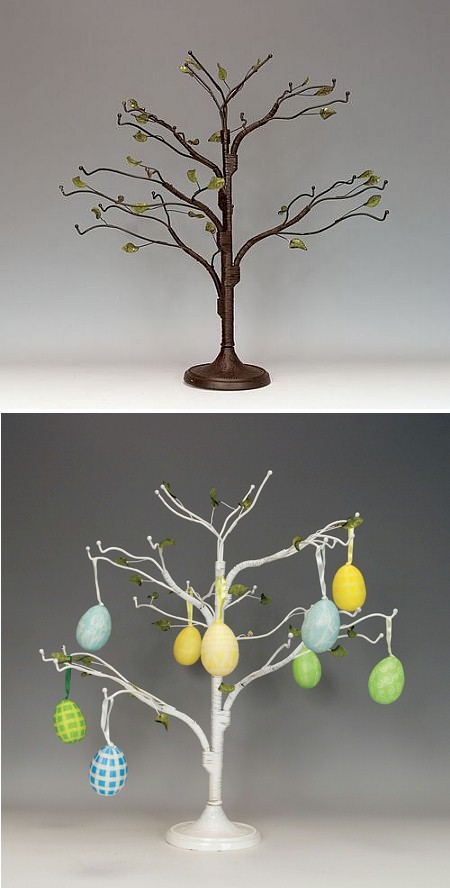 Ornament Trees Wire Twig 18 Display
