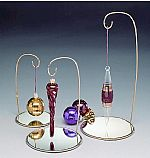 Wire Ornament Stands with Mirror Base