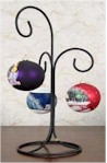 Wrought Iron Tree Ornament Stand