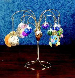 Ornament Trees - Mini Fountain Tree - Set of 2, Ornament ...