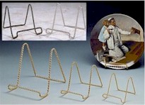 Twisted Wire Plate Stands and Easels