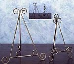 Classic Metal Picture Stand and Plate Easel