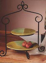 Plate Stands Tiered, Dinner Plate Stands, Pie Racks, Multiple Plate Display