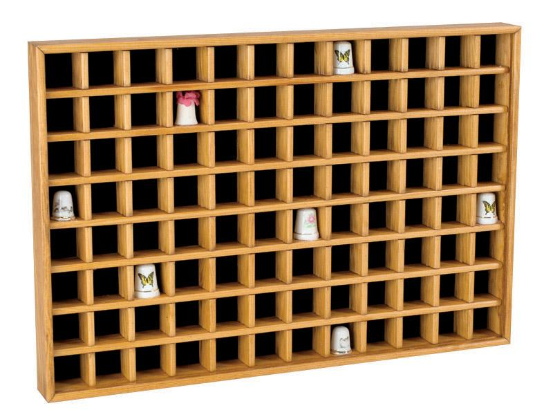 Thimble Display Cases, Thimble Display Cabinets, Thimble Collectors Cases