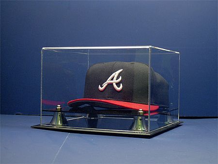 display case baseball ball cap deluxe baseball
