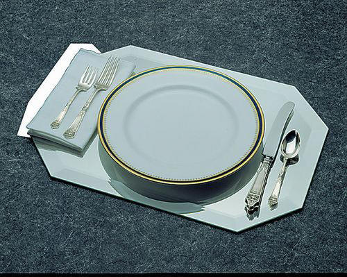 Display Cases & Display Accessories - Mirror Placemats, Mirrored Display