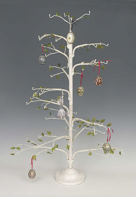 Ornament trees wire twig quot christmas