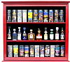 Shot Glass Cabinets, Shot Glass Cases, Shot Glass Displays