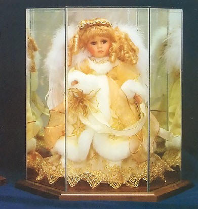 Doll Display Cases, Figurine Display Cases and Display Cabinets