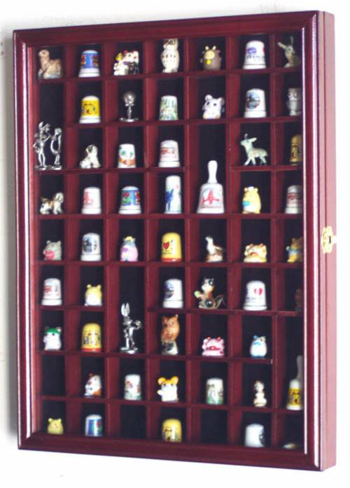 Thimble Cabinets 59 Openings Thimble Display Domes And