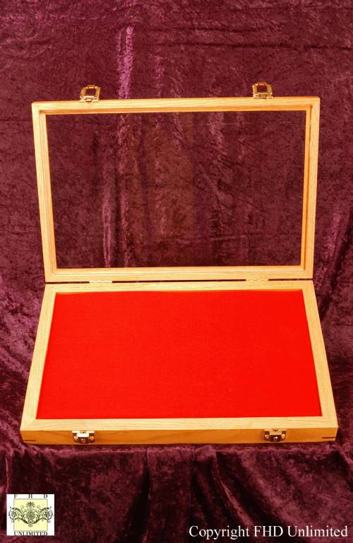 Display Case Shadow Box 12 Quot X 18 Quot Gun Rifle And Knife