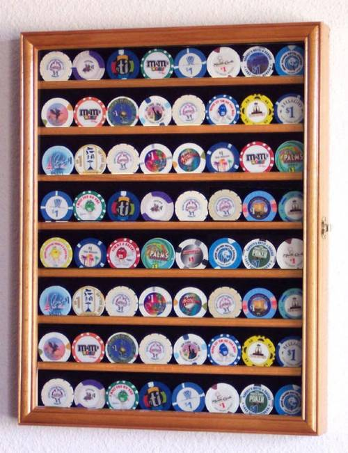 casino chip display