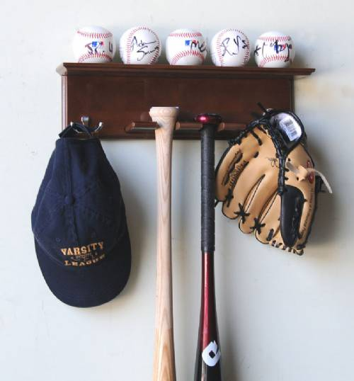 Display Cases Baseball Bat Bat Ball Amp Hat Rack