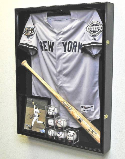 Display Cases Sports Jersey Extra Deep Baseball
