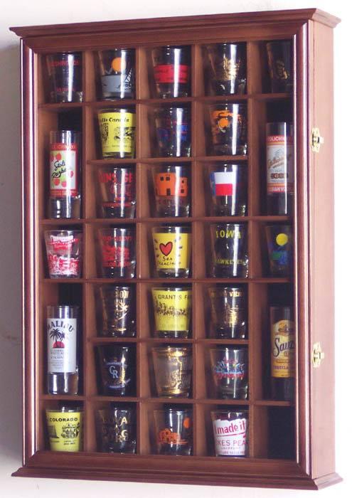 Shotglass Collector Case 31 Shot Glass Shot Glass