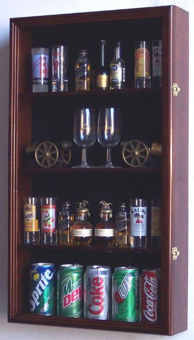 Shotglass Collector Case Tall Shot Glass Mini Liquor
