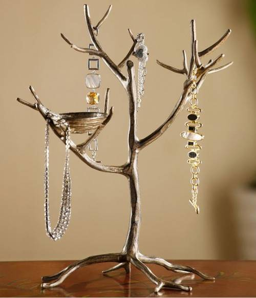 Jewelry Display Stands Trees With Nest Set Of 2