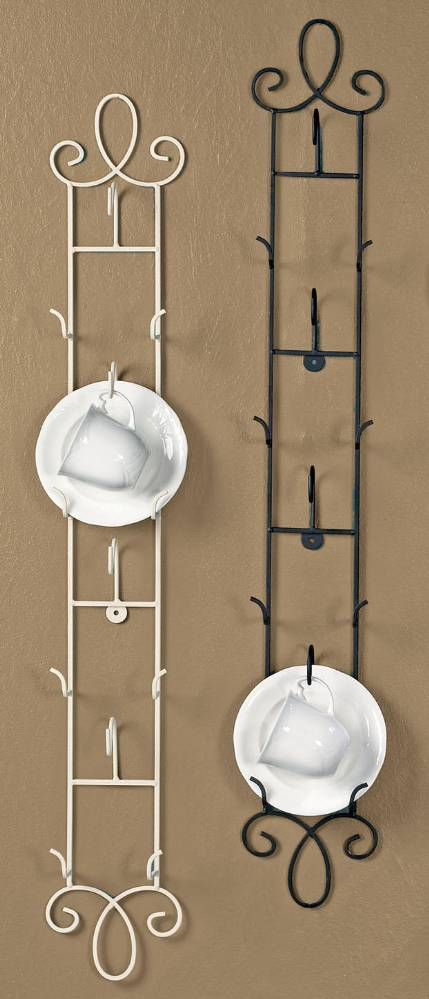Cup And Saucer Racks And Rails Augusta Vertical Tea Cup