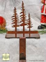 Stocking Hooks - Pine Trees