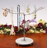Ornament Trees - Wire Twig Tabletop Gray