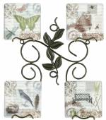 Plate Holder - Twig And Leaf Mini (Set of 2)