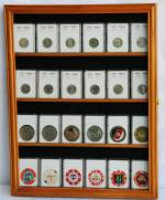 Coin Slab Display Case - 24 Slab