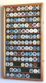 Collectibles Display Case - Casino Chip Thirteen Row