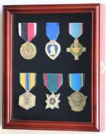 Display Case - Medals, Pins, or Patches - Small