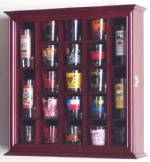 Shotglass Collector Case - 21 Shot Glass