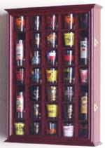 Shotglass Collector Case - 31 Shot Glass