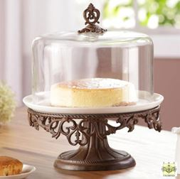 Domed Dessert Stand Cloche - Classic Collection