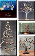 Selection of Ornament Trees and Christmas Display Holders