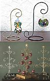 Ornament Stands, Ornament Hangers, Ornament Display Trees