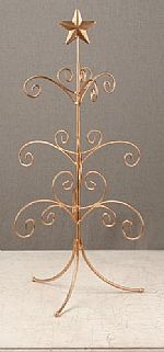 "Ornament Trees - Regent Display Tree 22"" Gold - Mini"