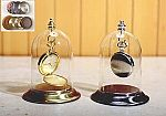 Glass Pocket Watch Domes -  Top Hook & Knob 3