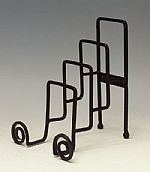 Plate Stands - Wrought Iron Four Tiered Plate Holder