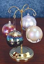 Ornament Hangers - Brass Tree