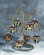 Ornament Trees - Gold Display - 13�