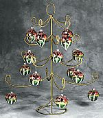 Ornament Trees - Gold Display - 22