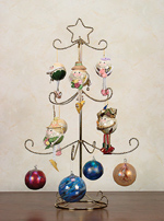 Ornament Trees - Twisted Three Tier Display