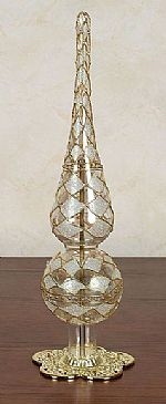 Ornament Holders - Tree Topper - Filigree
