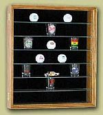 Collectors Case - Shot Glass, Golf Ball or Miniature Display