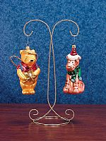 Ornament Hangers - Twin Arm Display