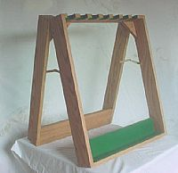Rifle Display Stand - 14 Rifles