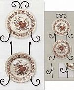 Plate Hangers - Wrought Iron Plate Holder - Extensions
