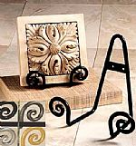 Plate Holders -  Scroll Style
