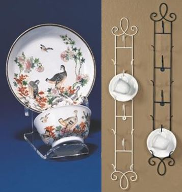 Tea Cup and Saucer Stands and Hangers