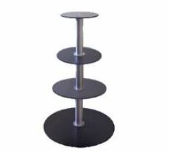 Tiered Rotating Turntables